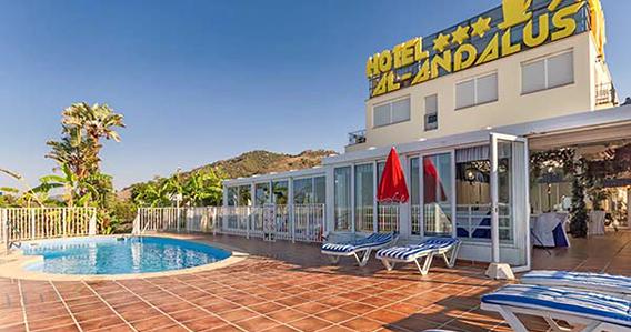 Hotel Al-Andalus*** de Nerja