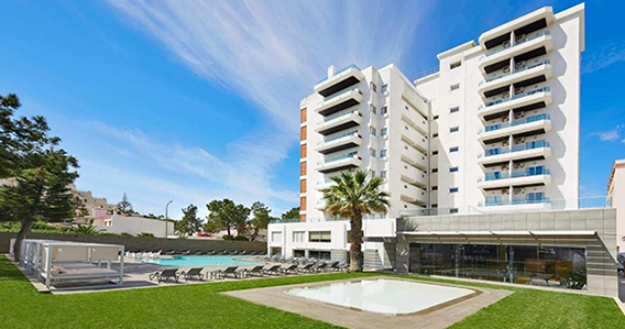 Alcazar Beach And Spa**** de Monte Gordo