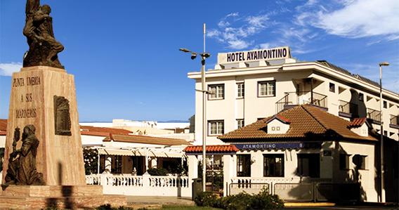 Hotel Ayamontino** de Punta Umbría