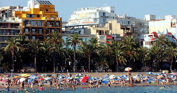 Hotel Esmeralda Beach** de Benidorm