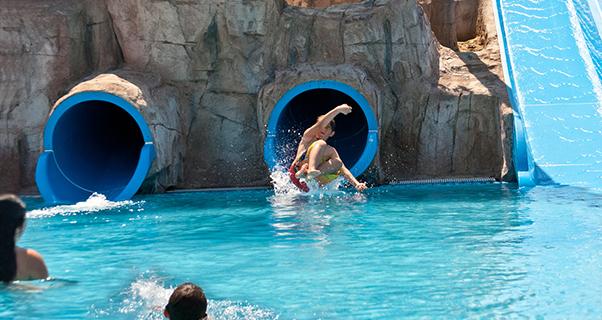 Europa Splash**** de Malgrat - piscina y solarium