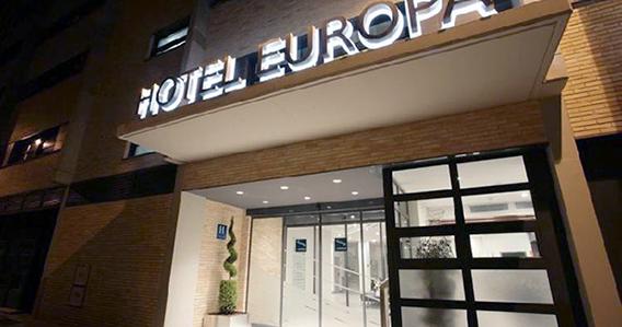 Hotel Europa**** de Utebo-Zaragoza