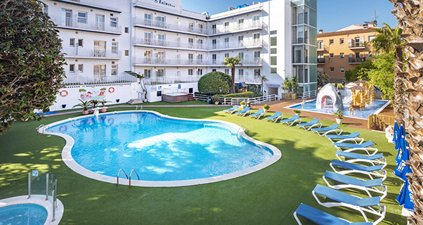 GHT Balmes Hotel, Aparthohotel y Splash*** de Calella