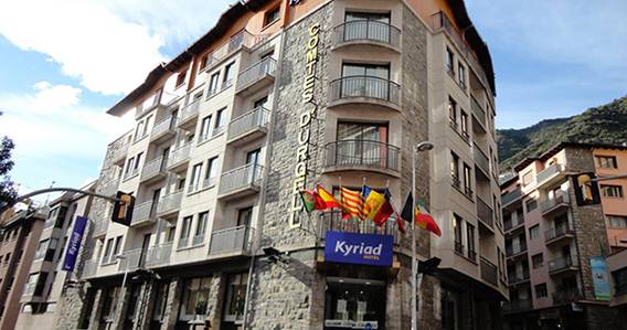Hotel Kyriad Comtes d'Urgell*** de Escaldes-Engordany