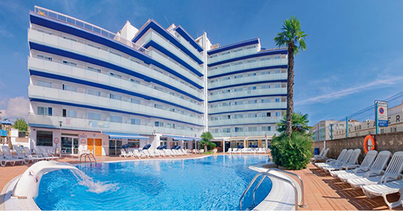 Hotel Mar Blau*** de Calella
