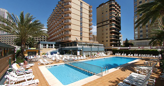 Hotel Med Playa Riudor*** de Benidorm