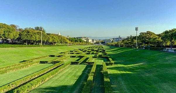 Parque Eduardo VII en Lisboa