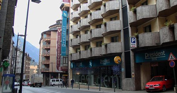 Hotel President**** de Andorra La Vella