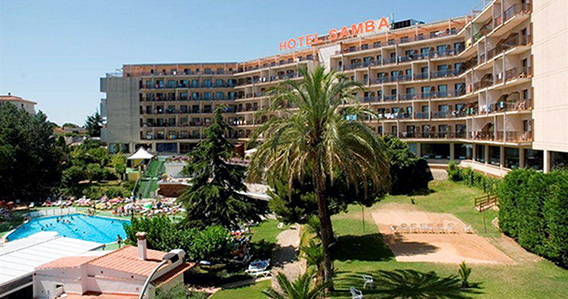 Hotel Samba*** de Lloret de Mar