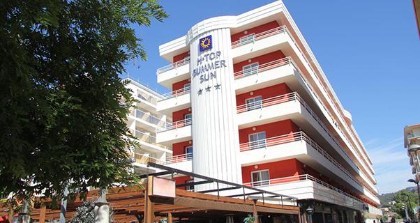 Hotel Summer Sun*** de Santa Susanna