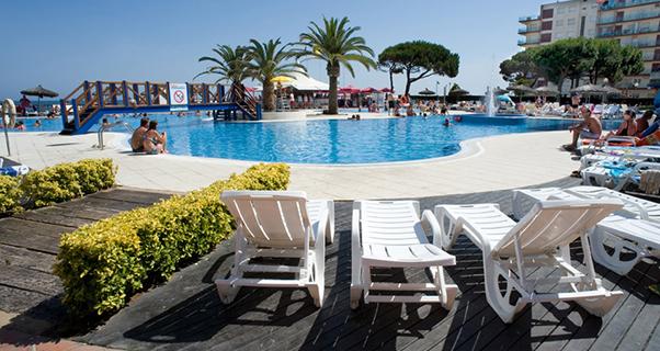 Hotel Tahiti Playa & Suites**** de Santa Susanna