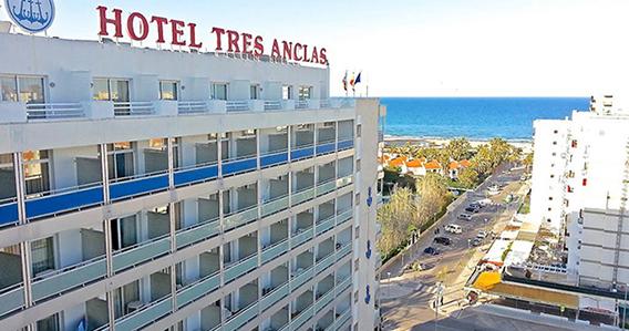 Hotel Tres Anclas*** de Playa de Gandía