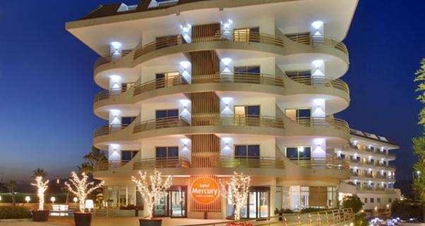 Hotel Mercury**** de Santa Susanna